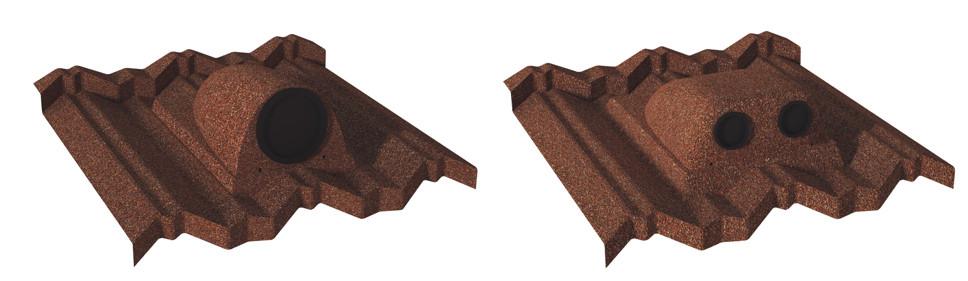 Dach-Zubehör für Rohrleitungen