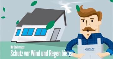 Kurz über GERARD Roofing Systems