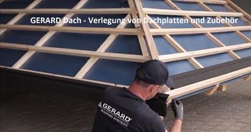 GERARD Dach - Verlegung von Dachplatten und Zubehör